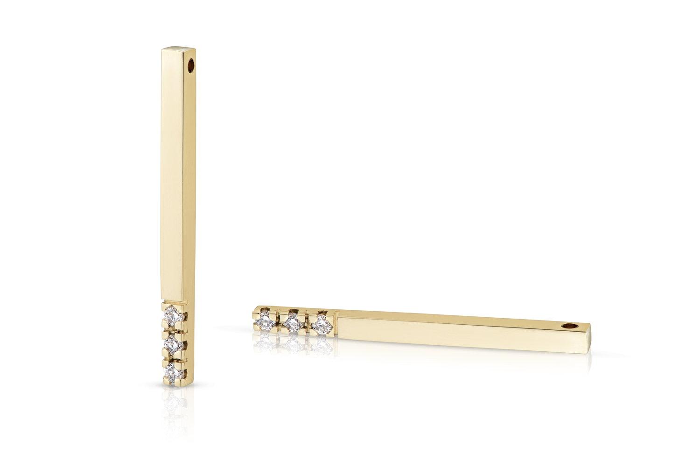 Gouden hanger Olivia