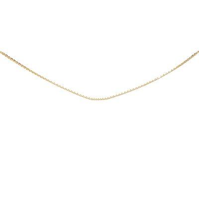 Geelgouden collier Venetiaans schakel